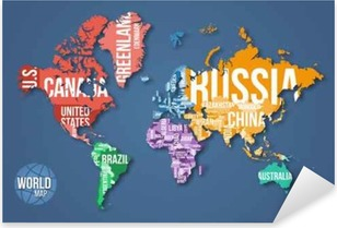 Vector detailed world map with borders and country names education vector detailed world map with borders and country names education business and travel infographic gumiabroncs Choice Image