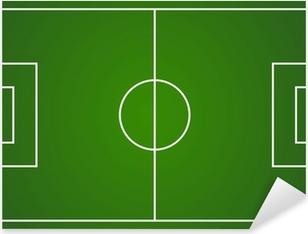 Vector football field layout