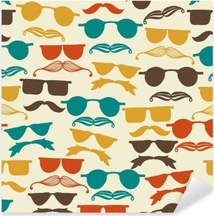 886ed8e0cb8f Collection of sunglasses on the beach Sticker • Pixers® • We live to change