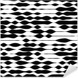 Vector seamless pattern. Universal repeating geometric abstract Pixerstick Sticker