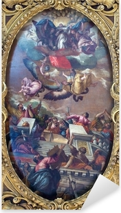 Sticker Pixerstick Venise - La douleur de l'Immaculée et saints