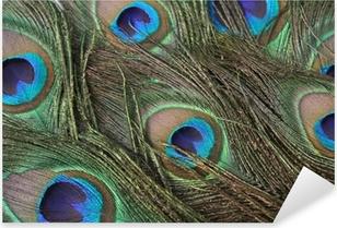 Pixerstick Sticker Veren van de pauw