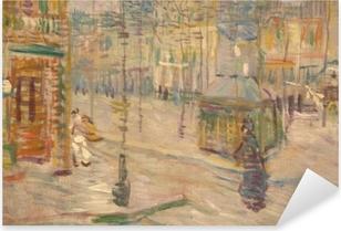 Sticker Pixerstick Vincent van Gogh - Boulevard de Clichy