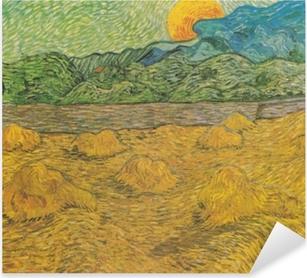 Vincent van Gogh - Evening landscape with rising moon Pixerstick Sticker