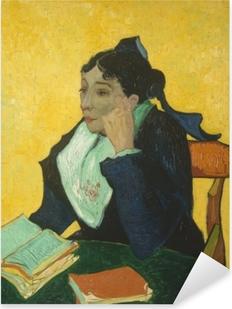 Pixerstick Sticker Vincent van Gogh - L'Arlésienne (De vrouw uit Arles)