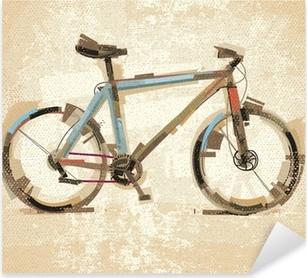 Pixerstick Sticker Vintage fiets