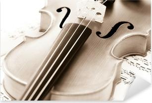 Sticker Pixerstick Violon