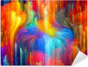 Virtual Color Pixerstick Sticker