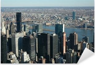 Vista sui grattacieli Pixerstick Sticker