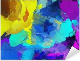 Vivid colors Pixerstick Sticker
