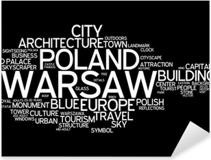 Warsaw Pixerstick Sticker