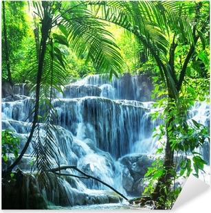 Waterfall in Mexico Pixerstick Sticker
