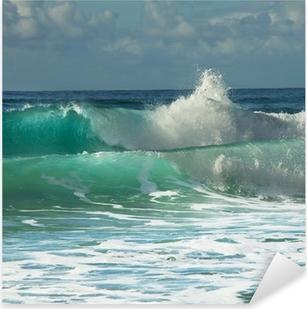 Wave Pixerstick Sticker