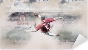 Sticker Pixerstick Wayne Rooney