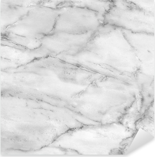 White marble texture (high.res.) Pixerstick Sticker