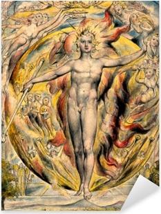 Pixerstick Sticker William Blake - Mozes