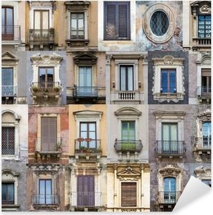 Windows from Sicily Pixerstick Sticker