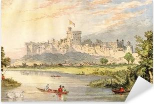 Windsor Castle Pixerstick Sticker