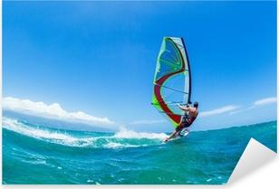 Windsurfing Pixerstick Sticker