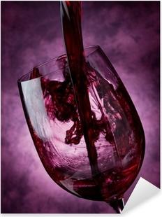 Wine Pixerstick Sticker