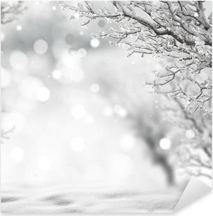 winter background Pixerstick Sticker