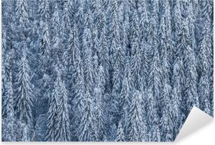 Pixerstick Sticker Winterwald