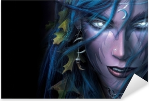 World of Warcraft Pixerstick Sticker