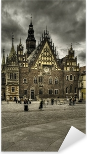 Sticker Pixerstick Wroclaw-rynek