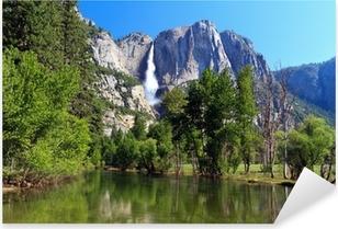 Sticker Pixerstick Yosemite fall