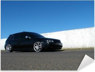 Pixerstick Sticker Zwarte auto