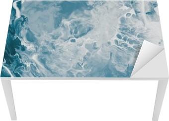 Blue marble texture. Table & Desk Veneer