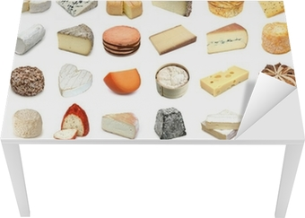 French and European cheeses (with names)