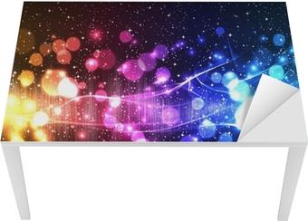 music equalizer wave Table & Desk Veneer