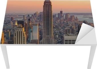 New York Empire state building Table & Desk Veneer