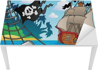 Pirate ship deck theme 4 Table & Desk Veneer