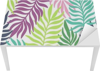 Seamless exotic pattern with palm leaves Table & Desk Veneer