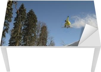 Snowboard freerider Table & Desk Veneer