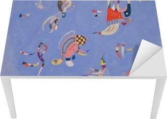 Wassily Kandinsky - Sky Blue Table & Desk Veneer