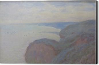 Tableau Alu-Dibond Claude Monet - Falaises près de Dieppe