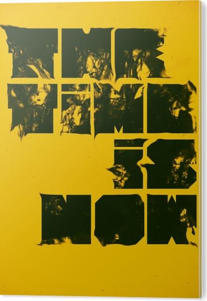 Tableau Alu-Dibond Poster Motivant -