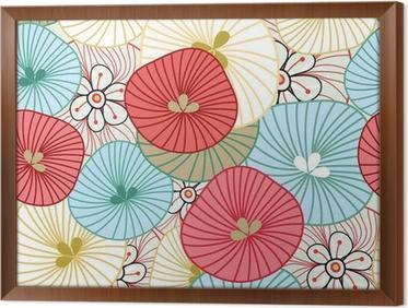 Tableau en Cadre Flower background