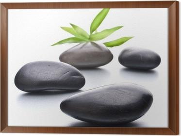 simple tableau en cadre galets zen pierre spa et le concept de soins de sant with cadre galet zen. Black Bedroom Furniture Sets. Home Design Ideas