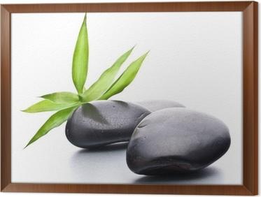 fabulous tableau en cadre galets zen pierre spa et le concept de soins de sant with cadre galet zen. Black Bedroom Furniture Sets. Home Design Ideas