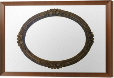 Sticker Miroir ancien cadre Voralge • Pixers® - Nous vivons pour changer
