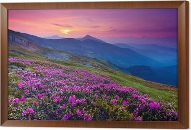 Tableau en Cadre Paysage de montagne
