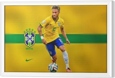 Tableau encadré Neymar