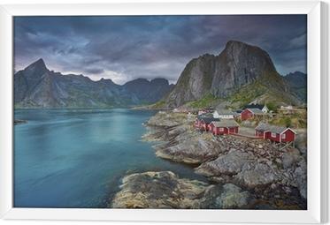 Tableau encadré Norvège