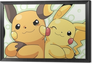 Tableau encadré Pokémon