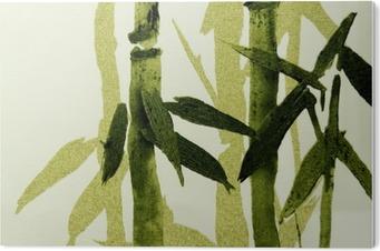 Tableau Plexiglas Bamboo texture