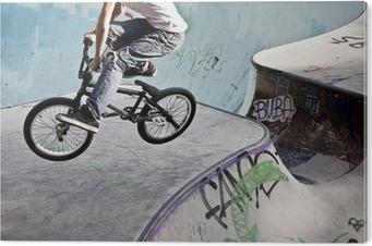 Tableau Plexiglas Skatepark im BMX